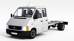 无盖货车模型3d模型