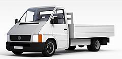 运货卡车模型3d模型