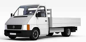 3d运货卡车模型