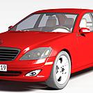 奔驰轿车模型