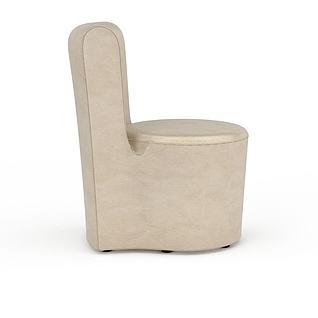 马桶沙发3d模型