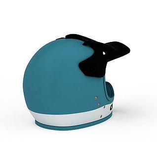 赛车头盔3d模型