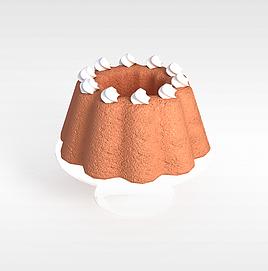 糕点3d模型