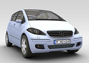 3d奔驰<font class='myIsRed'>汽车</font>模型