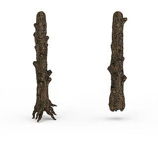古树干3d模型