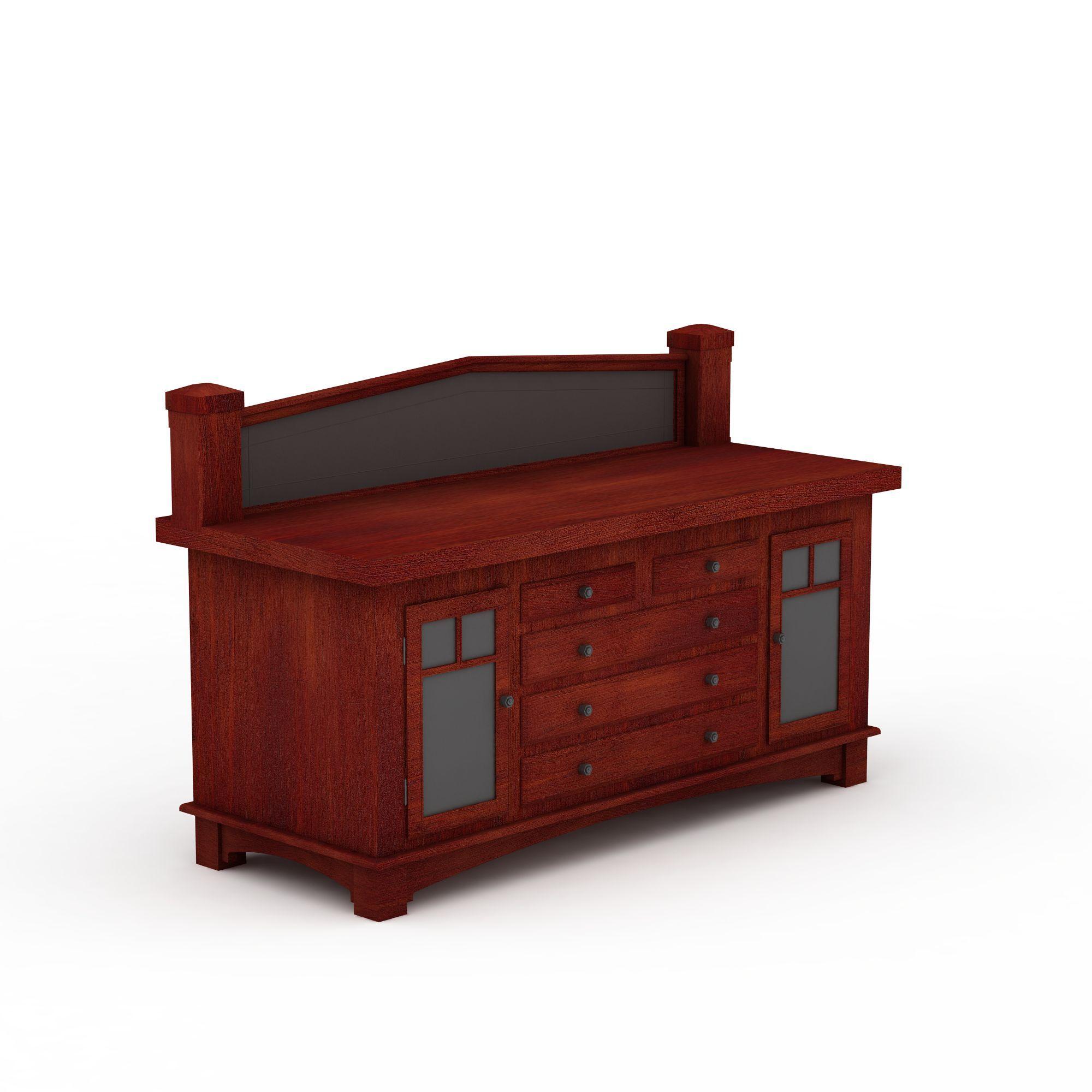 家具组合 柜 实木古典柜子3d模型 实木古典柜子png高清图  实木古典柜