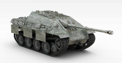 猎豹坦克模型3d模型