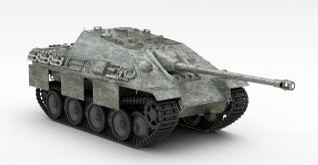 3d猎豹坦克模型