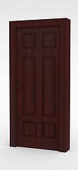 木门模型3d模型