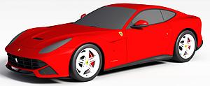 3d<font class='myIsRed'>跑车</font>模型