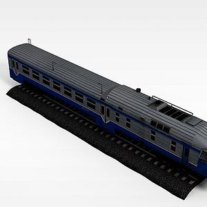 铁轨火车模型