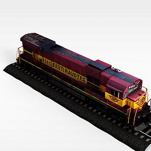 复古火车模型