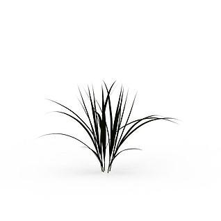 野草3d模型