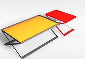 3d折叠桌子模型