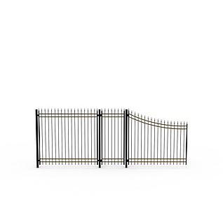 花园栏杆3d模型