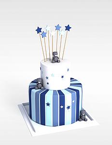 3d生日<font class='myIsRed'>蛋糕</font>模型