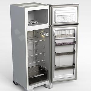 双层冰箱模型