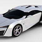 豪华赛车模型