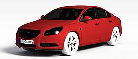 3d欧宝<font class='myIsRed'>汽车</font>模型