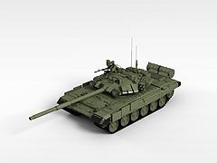 T90二战坦克模型3d模型