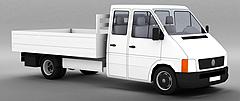 货车模型3d模型