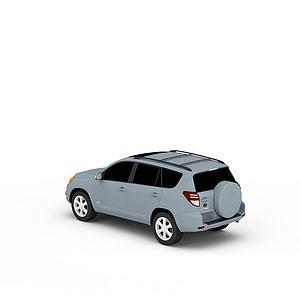3d豐田越野汽車模型