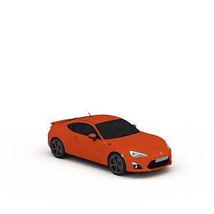 3d豐田跑車模型