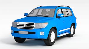3d豐田汽車模型