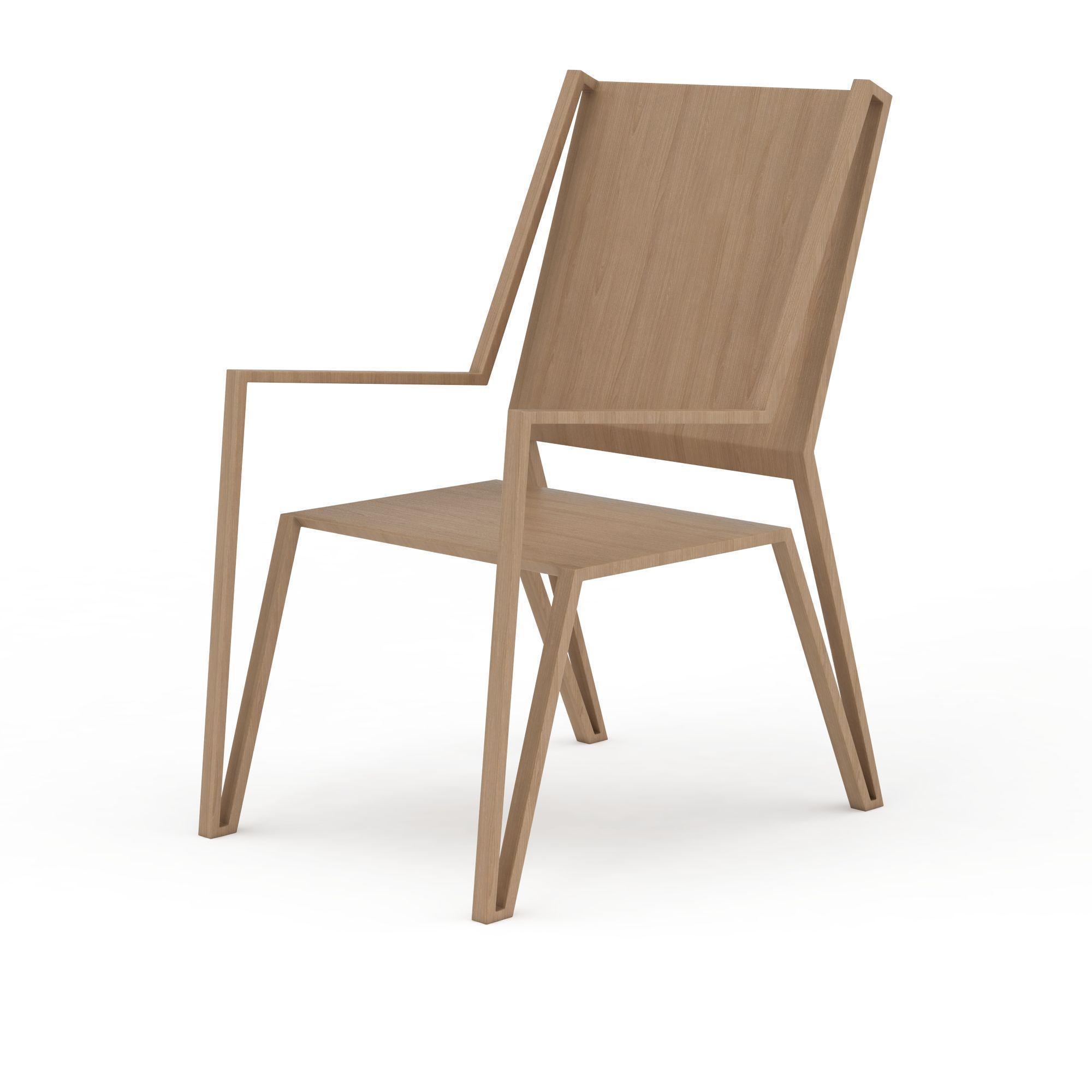 简易木质椅子高清图下载