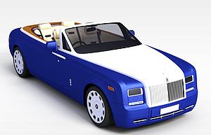 3d敞篷<font class='myIsRed'>跑車</font>模型
