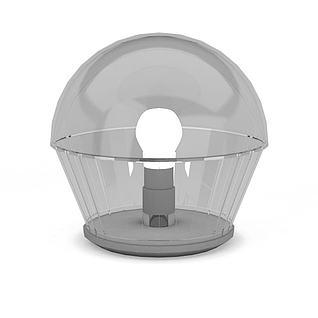 户外照明灯3d模型