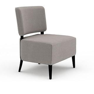 单人休闲椅3d模型