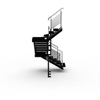 室内楼梯3d模型