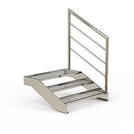 现代楼梯模型