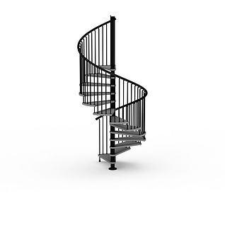 手扶楼梯3d模型