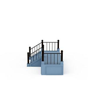 室外楼梯模型