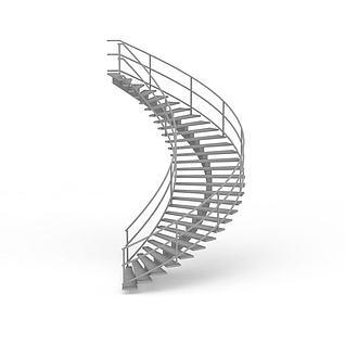 室内扶梯3d模型