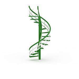 旋转楼梯模型