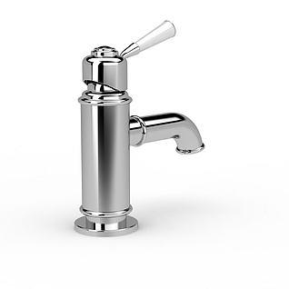 卫浴水龙头3d模型
