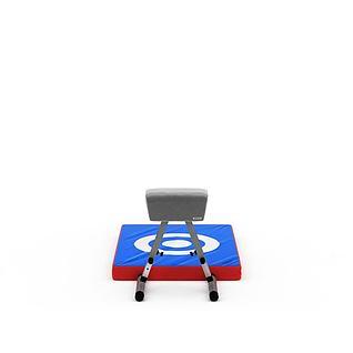 跳高器材3d模型