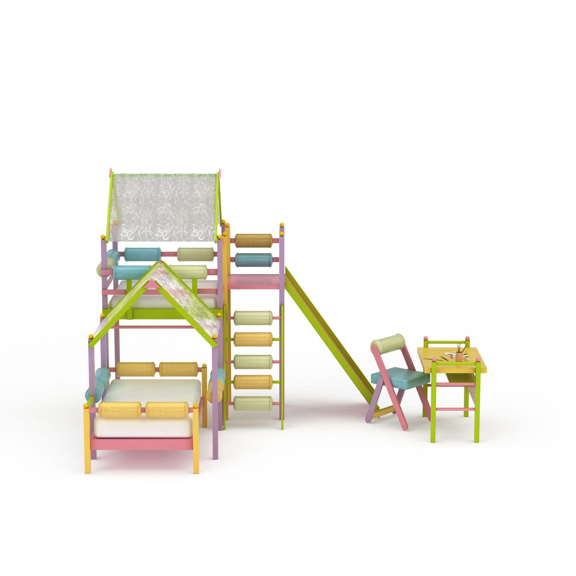 创意儿童房家具png高清图  创意儿童房家具高清图详情 设计师 3d学院