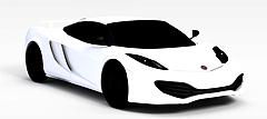 跑车迈凯轮模型3d模型