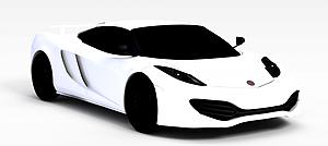 3d<font class='myIsRed'>跑车</font>迈凯轮模型