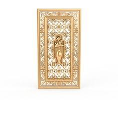 金色墙饰3D模型3d模型