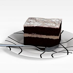 3d慕斯<font class='myIsRed'>蛋糕</font>模型