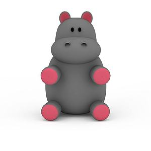 小熊玩偶模型3d模型