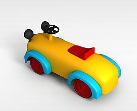 儿童游乐小车3d模型