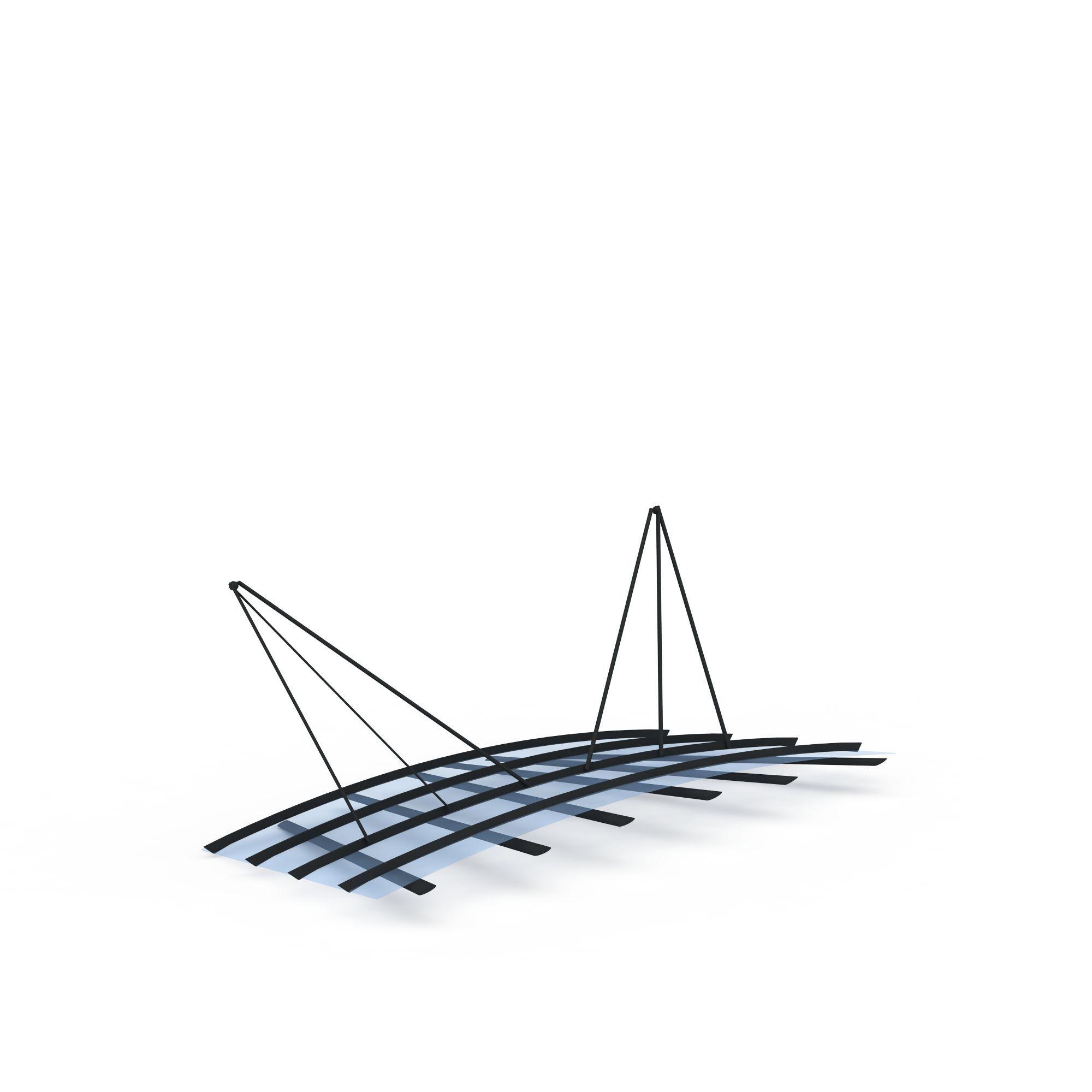 构件五金 其它 钢结构雨棚3d模型 钢结构雨棚png高清图  钢结构雨棚