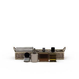 浴室用品3d模型