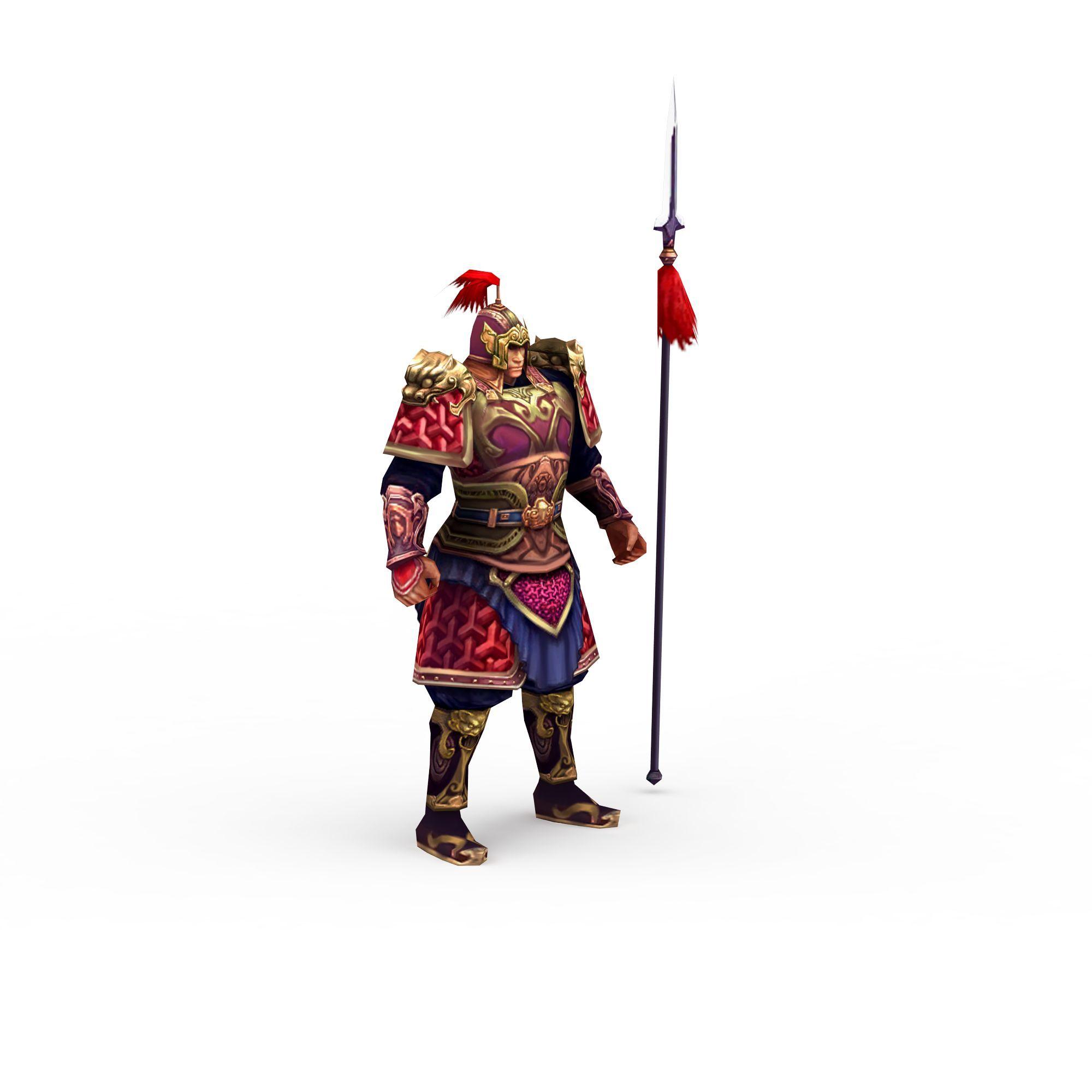 游戏铠甲人物png高清图  游戏铠甲人物高清图详情 设计师 3d学苑 模型